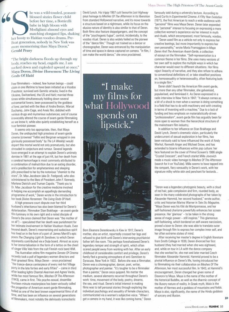 Filmink_Maya article_SM_page 1
