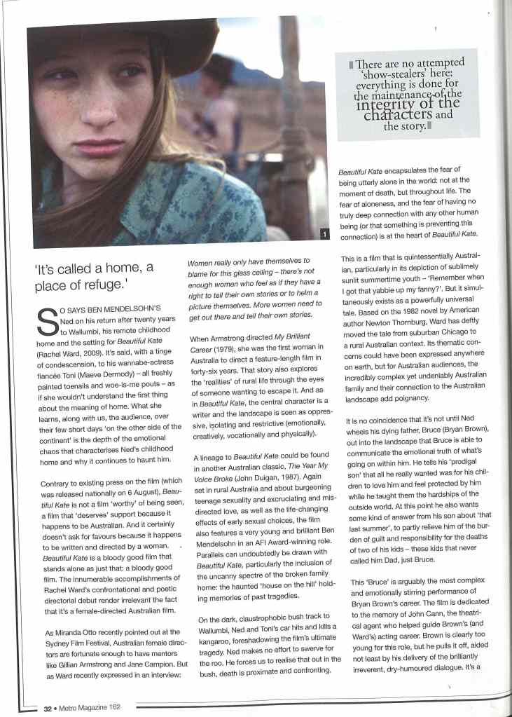 Metro Mag_Kate Article_SM_Page 1